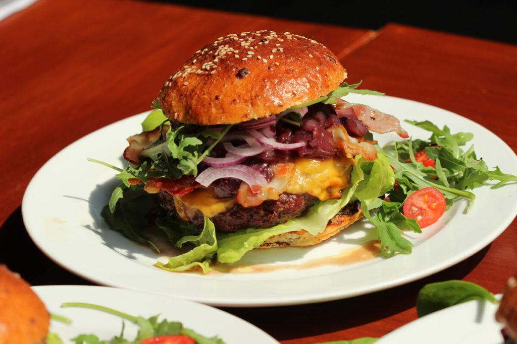 Kváskový burger