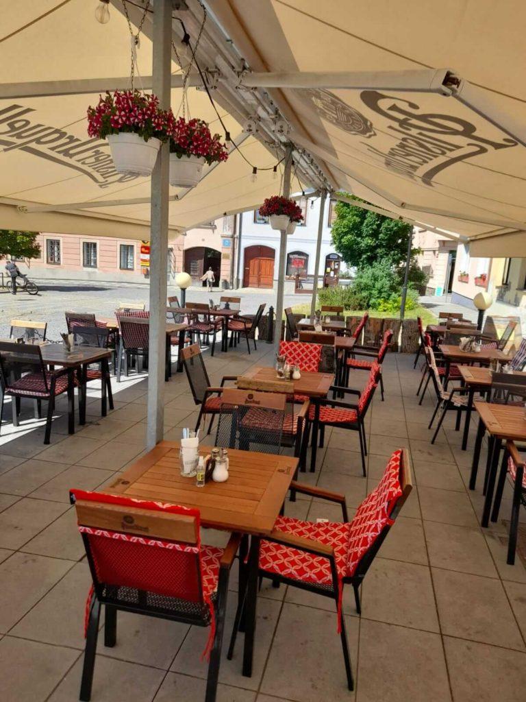 Restaurace Špajz, zahrádka